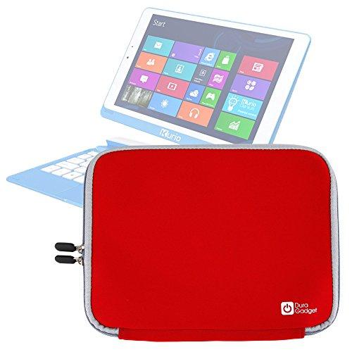 DURAGADGET Funda Roja De Neopreno para Tablet SPC Glow 10 - Resistente Al Agua