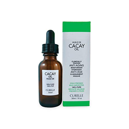 100% Pure Cold Pressed Cacay Oil By Curelle - Clinically Proven Anti Aging And Wrinkle Care