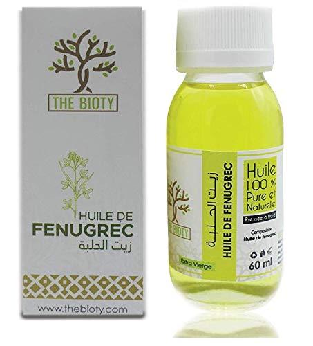 Fenegriek olie extra virgin 100% zuiver koud geperst om het volume van de borst en bil 60ml verhogen (60 ML)