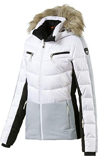 Icepeak Valda Damen Skijacke, Optic White, Gr. 36