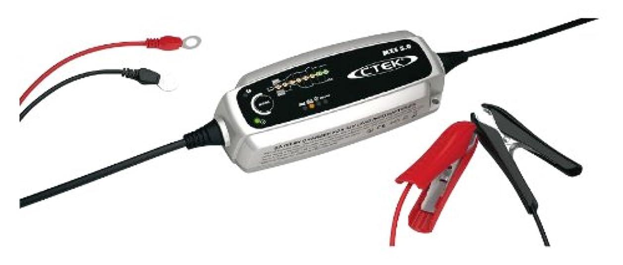セイはさておき拡声器思いやりのあるCTEK(シーテック) バッテリーチャージャー&メンテナー 4.3A MXS5.0JP
