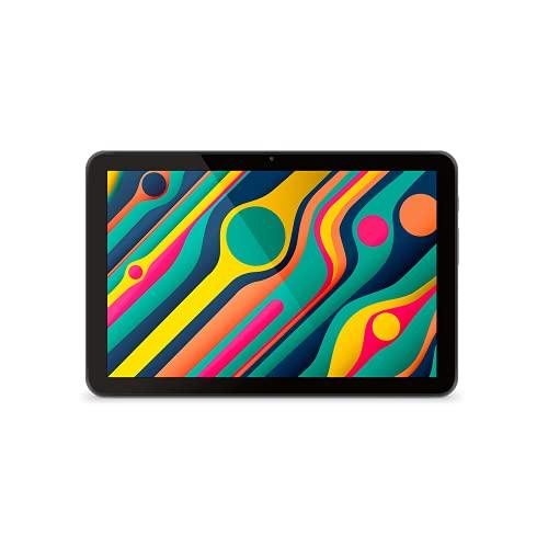 "SPC Gravity (2nd Gen) - Tablet de 10,1"" HD IPS, 32GB de Memoria ampliables, 2GB de RAM, Altavoces duales estéreo, procesador MediaTek Quadcore a 1,3GHz, USB-C, Color Negro"
