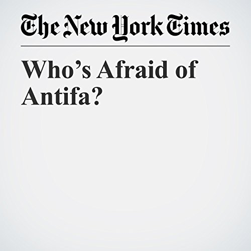 Who's Afraid of Antifa? copertina