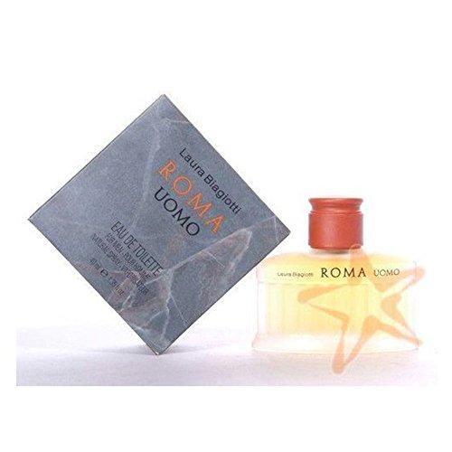 Protector de pantalla y Laura Biagiotti Roma Uomo 40 ML Agua de perfume placa para puerta de ion de litio para de manga corta para hombre