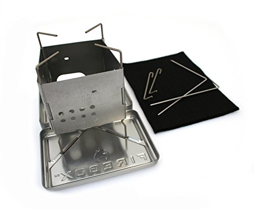 Firebox Stainless Steel Nano Stove G2 + X-Case Kit