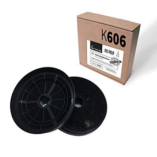 KKT KOLBE K606 Aktivkohlefilter für Dunstabzugshauben / = K122 / ST1 / CF110 / / für ART406 / ED/S/W / / CUBE60S / CURVEx06S / FREEx004TC / HERMESx06S /x07SM / INTEGRA606 / LIBERA x07SM / uvm.