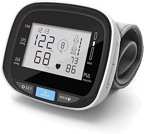 Blutdrucküberwachung Oberarm, genaues automatisches digitales BMACHINE mit 22-42cm Manschetten für den Heimgebrauch, großer LCD-Displayarm-Blutdruckmessgerät Elektronisches Blutdruckmessgerät