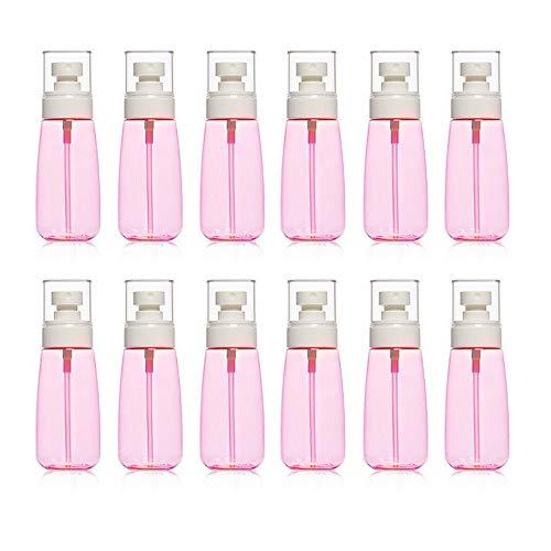 Lot de 12 flacons de 30 ml pour flacon vaporisateur de toner et cosmétiques