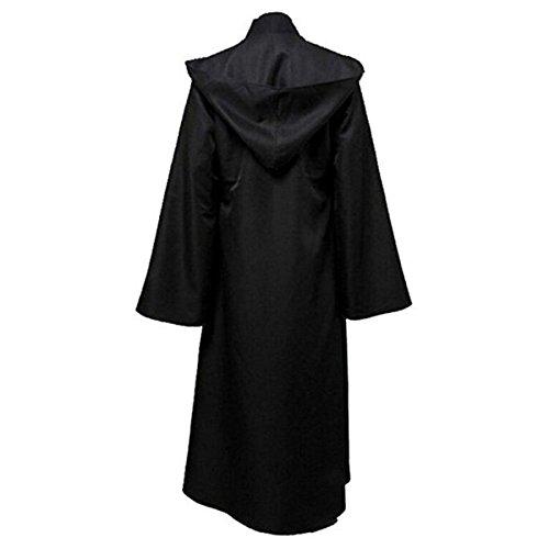 Huntfgold Herren Kapuzen Robe Umhang Ritter Kostüm
