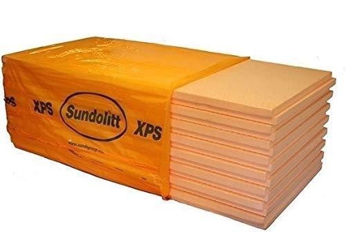XPS Platten Dämmplatte Dämmung 60 mm - 5,25 m2 / Paket - 300 KPA extrem druckfest Perimeterdämmung