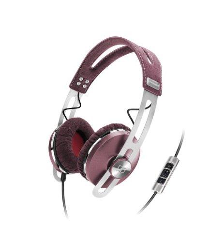 Sennheiser Momentum ON-EAR - Auriculares de diadema cerrados (Con micrófono, control remoto integrado), rosa