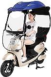 J&X Detalle de la Motocicleta, Motor Bicycle Sun Visera Sombra Tienda Paraguas Paraguas A Motorbike Techo, Universal