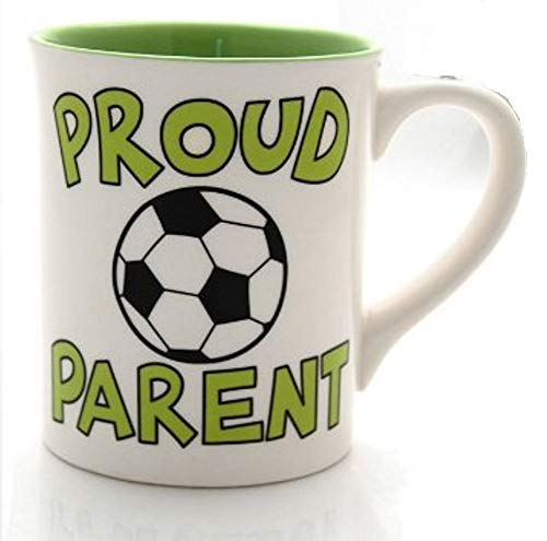 Our Name Is Mud by Lorrie Veasey Soccer Parent Mug, 4-1/2-Inch