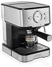 Princess Macchina per caffè Espresso a Capsule 249412, 1100 W, 1 Cups, Argento