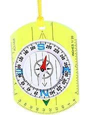 Przenośny kompas magnetyczny kompas podróżny Kompas zewnętrzny Solidny i trwały piesze wycieczki na przygodę na świeżym powietrzu