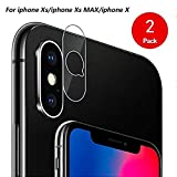 Back Camera Lens Protector for iPhone X (2 Pack), Anicle High Definition Camera Lens Tempered Glass for iPhone X /10