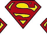 Superman Classic Badge Baumwolle Meterware