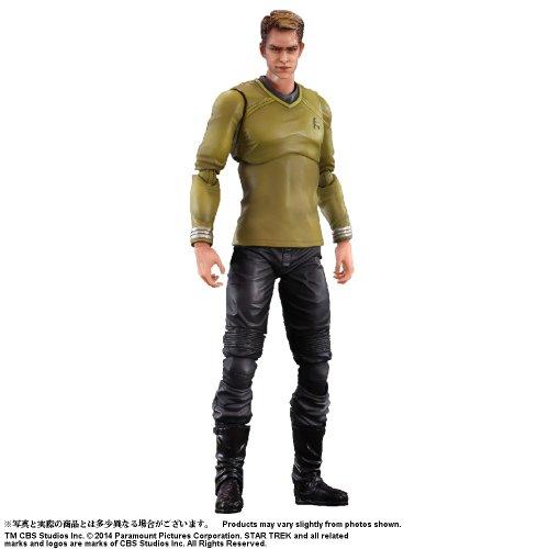 Figurine Play Arts Kaï - Captain James T. Kirk (Star Trek)