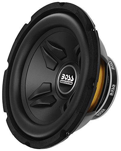 4. BOSS Audio CXX10 800 Watt, 10 Inch, Single 4 Ohm Voice Coil Subwoofer