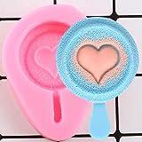 UNIYA Mini molde de silicona para helado Lollipop Candy Molds DIY Cupcake Topper Fondant Cake Decoración Herramientas Chocolate Moldes