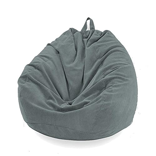 KTISMYRBBGFFSFD 10 färger lata soffor överdrag stolar skydd med innerfoder varm manchesterstol sittplats bönpåse puff soffa tatami vardagsrum-B, 70 x 80 cm