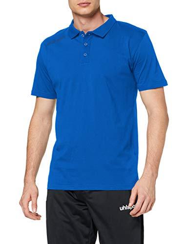 uhlsport Herren Essential Polo Shirt Poloshirt, azurblau, 5XL