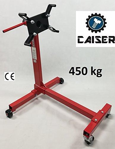 Caballete Soporte para Motores 450 KG. (Rojo)