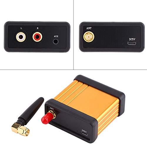 Demeras Bluetooth 4.2 DC 5V Ligero Alta compatibilidad Placa amplificadora de Salida RCA Recepción de Audio Caja estéreo para Unidad de Auriculares Componente de Audio