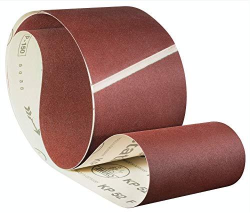 Awuko KP52F Schleifband/Schleifbänder | 150 x 2600 | 20 Stück | Körnung: 80