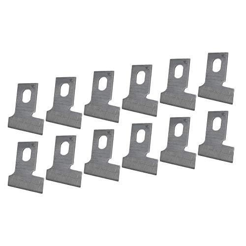 Juego de cuchillas de máquina de ojal recto de 12 piezas, accesorio para máquina de coser industrial(7/8 Typ)