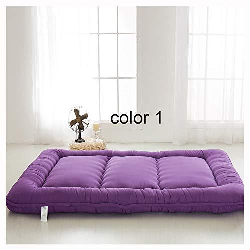 WGXY Candy Color Tatami mat matratze matratze pad Schlafzimmer schlafsofa Stuhl Yoga matratze,#1,0.9x2.0m