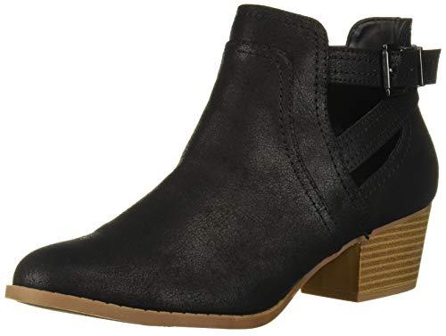 Fergalicious Women's Banger Ankle Boot, Black, 9 M M US