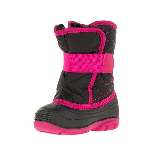 Kamik Mädchen Winterstiefel Snowbug3, Pink (Black Rose Bro), 24 EU