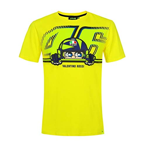 VR46 Camiseta Logo Mascotte