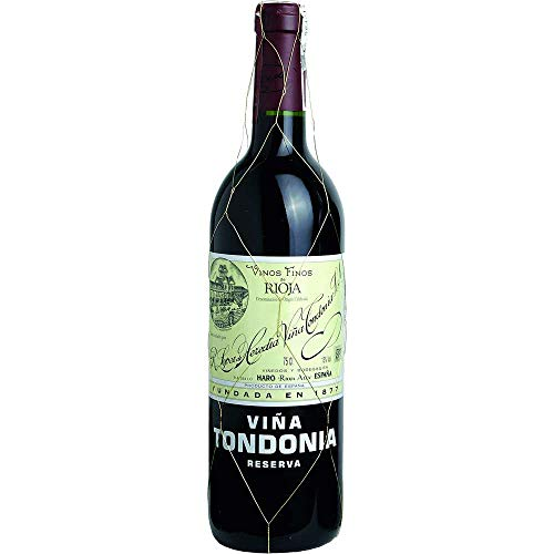 Vina Tondonia Reserva tinto 2005 Rioja Reserva DO Rotwein trocken Lopez de Heredia Vina Tondonia Spanien 750ml-Fl (61,07€/L)