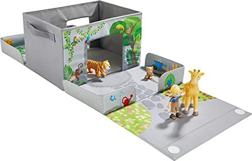HABA Little Friends 305655 Aufbewahrungsbox für Figuren und Tiere ab 3 Jahren