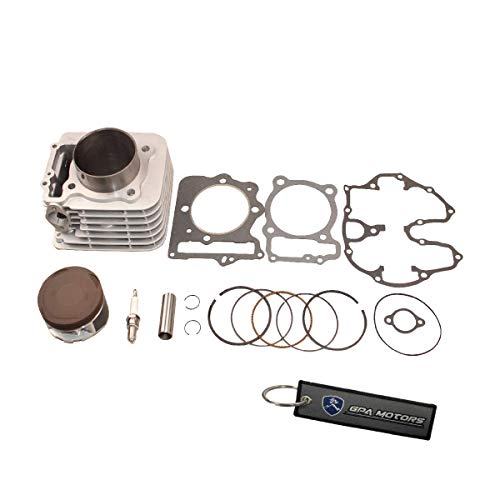 85mm 397cc Big Bore Cylinder Piston Gasket Kit for Honda Sportrax TRX400EX 99-08