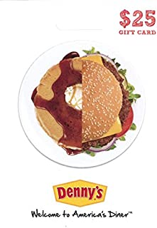 denny's gift card 50 for 25