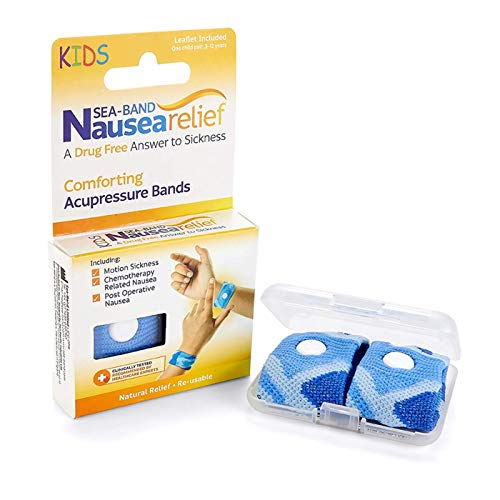 Sea-Band Nausea Relief Acupressure Wrist Band For All Types Of Nausea - Child Size