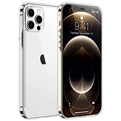 SPIDERCASE Clear Case Compatible with iPhone 12 Pro Max Case - Clear