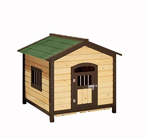 Verkoold hondenhok waterdicht zonnescherm anticorrosie klein huis hondenhok hondenhok massief houten hondenhok