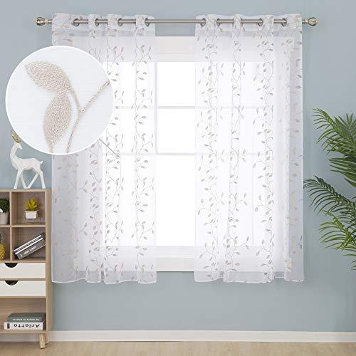 cortinas salon traslucidas lino