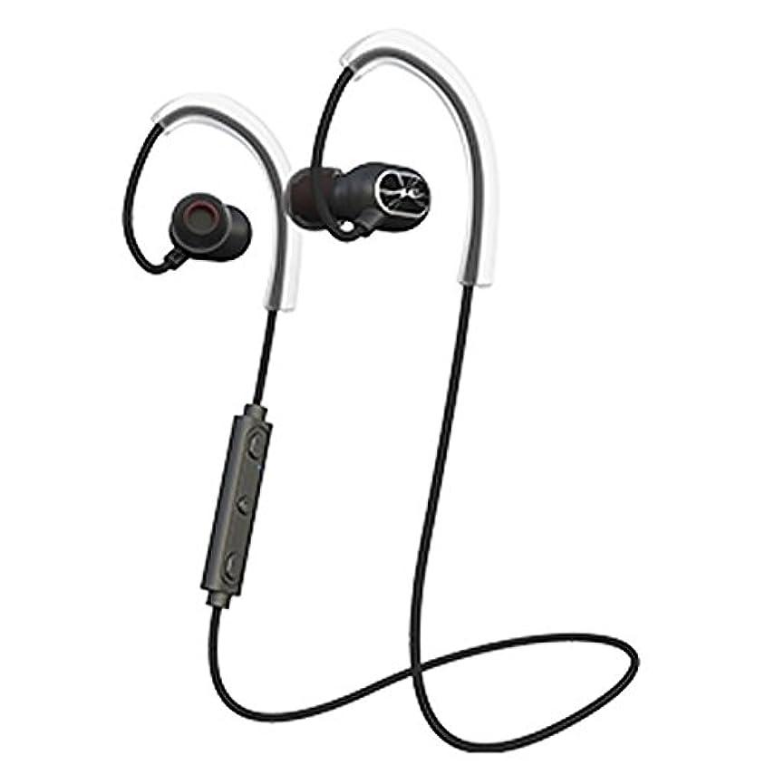 流すアスペクトムスタチオHP-S100BTK(ブラック) Bluetoothイヤホン