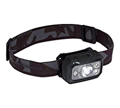 Emits up to 400 lumens on max setting. PowerTap Technology allows instant transitioning between full and dimmed power with extremely bright LED lights. Brightness Memory allows you to turn the light on the headlamp on and off at a chosen brightness w...