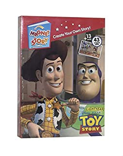 Toy Story Magnet Story Book Toy for Kids - 43 Magnet Parts