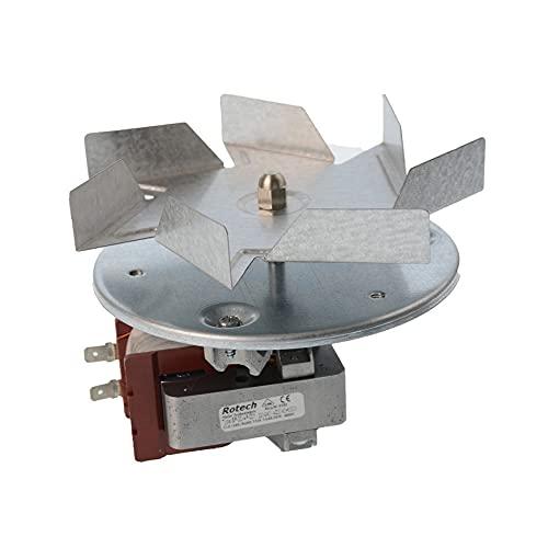 KG-Part C00060312-32w 135mm Motor de ventilador de horno para Bauknecht, De Dietrich, Functionica, Philips, Whirlpool