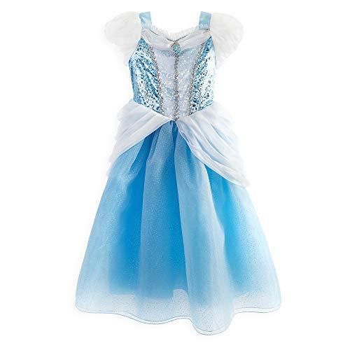 Disney Cinderella Costume for Girls, Size 4 Blue