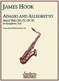 adagio and allegretto saxophone trio