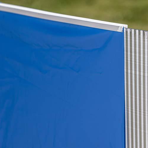 Gre FPROV730 - Liner para Piscinas Ovaladas, 730 x 375 x 120 cm (Largo x Ancho x Alto), Color Azul