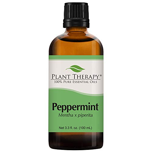 Plant Therapy Peppermint Essential Oil 100% Pure, Undiluted, Natural Aromatherapy, Therapeutic Grade 100 mL (3.3 oz)